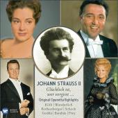 Album artwork for J. Strauss II: Original Operetta Highlights