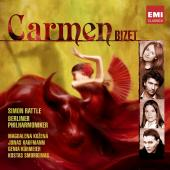 Album artwork for Bizet: Carmen / Kozena, Kaufmann, Rattle