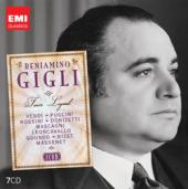 Album artwork for Icon: Beniamino Gigli – Tenor Legend