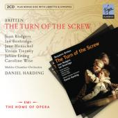 Album artwork for Britten: The Turn of the Screw/ Bostridge, Harding