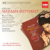 Album artwork for Puccini: Madama Butterfly / Callas Gedda, Karajan