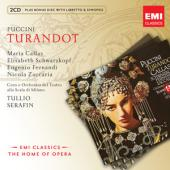 Album artwork for Puccini: Turandot / Callas, Schwarzkopf, Serafin