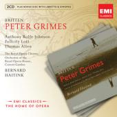 Album artwork for Britten: Peter Grimes / Haitink, Lott, Allen