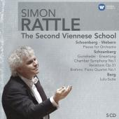 Album artwork for Rattle Conducts The Second Viennese School