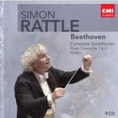 Album artwork for Rattle Conducts Beethoven Symphonies, Fidelio