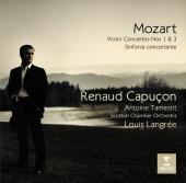 Album artwork for Mozart: Violin Concertos Nos. 1 & 3 / Capucon