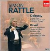 Album artwork for Music of Debussy and Ravel / Rattle