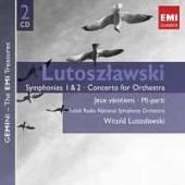 Album artwork for Lutoslawski: Symphonies 1 & 2
