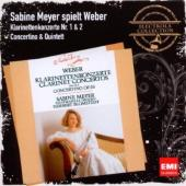 Album artwork for Weber: Clarinet Concertos nos. 1 & 2 - Sabine Meye