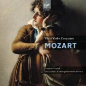 Album artwork for Mozart: Complete Violin Concertos / Tetzlaff