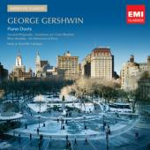 Album artwork for Gershwin: Piano Duets / Katie & Marielle Labeque