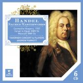 Album artwork for Handel: Sacred Masterworks / Taverner Consort