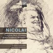 Album artwork for Nicolai: Symphony in D, Overtures / Rickenbacher