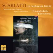 Album artwork for Scarlatti: La Santissima Trinita / Biondi