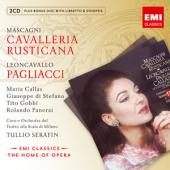 Album artwork for Cavalleria Rusticana, Pagliacci / Callas, Serafin