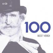 Album artwork for 100 Best Verdi (6CD set)