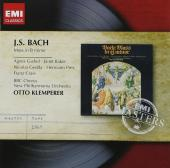 Album artwork for Bach: Mass in B Minor / Klemperer
