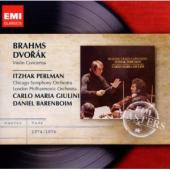 Album artwork for Brahms, Dvorak: Violin Concertos / Perlman