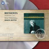 Album artwork for Beethoven: Symphonies 5, 6 / Rattle