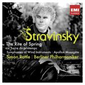 Album artwork for Stravinsky: Le Sacre du Printemps, Wind Symphony /