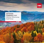 Album artwork for Beethoven: Symphonies 2 & 4