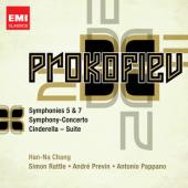 Album artwork for Prokofiev: Symphony No 5 & 7, Sinfonia Concertante