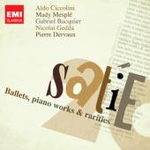 Album artwork for Satie: Ballets, piano works and rarities