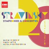 Album artwork for Stravinsky: Symphony in 3 Movements, Violin Concer
