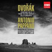Album artwork for Dvorak: Symphony No 9 & Cello Concerto / Pappano
