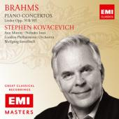 Album artwork for Brahms: Piano Concertos Nos 1 & 2 / Kovakevich