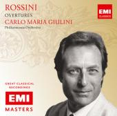 Album artwork for Rossini: Overtures / Giulini