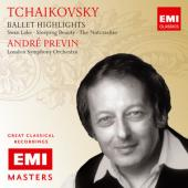 Album artwork for Tchaikovsky: Ballet Highlights / Previn