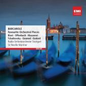 Album artwork for Barcarole, Favourite Orchestral Pieces / Marriner