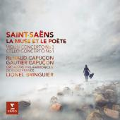 Album artwork for Saint-Saens: Violin Concerto 3, Cello Concerto 1