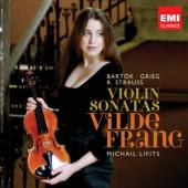 Album artwork for Bartok/Strauss/Grieg: Violin Sonatas / Frang