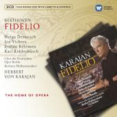 Album artwork for Beethoven: Fidelio / Vickers, Karajan