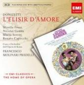 Album artwork for Donizetti: L'Elisir D'Amore / Freni, Gedda