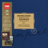 Album artwork for Klemperer conducts Mendelssohn & Schumann
