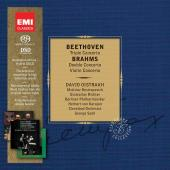 Album artwork for Beethoven: Triple Concerto, Brahms: Double Concert