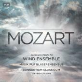 Album artwork for Mozart: Complete Music For Wind Instruments