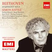 Album artwork for Beethoven: Symphony No. 9 / Simon Rattle