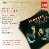 Album artwork for Beethoven: Fidelio / Ludwig, Vickers, Klemperer