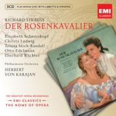 Album artwork for Strauss: Der Rosenkavalier / Schwarzkopf, Karajan
