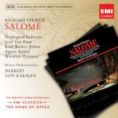 Album artwork for Strauss: Salome / Behrens, Van Dam, Karajan