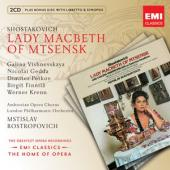 Album artwork for Shostakovich: Lady Macbeth of Mtsensk Rostropovich