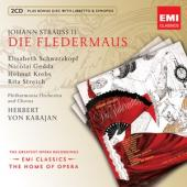Album artwork for Strauss: Die Fledermaus / Schwarzkopf, Karajan