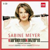Album artwork for Sabine Meyer: Clarinet Conceros