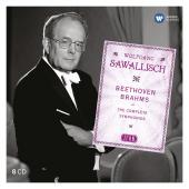 Album artwork for Wolfgang Sawallisch: Beethoven / Brahms The Comple