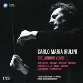Album artwork for CARLO MARIA GIULINI - THE LONDON YEARS