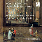 Album artwork for Music in Germany from Schutz to Bach (8CD & Book)